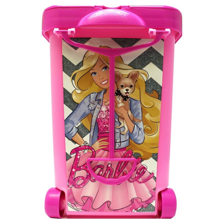 Barbie Store It All Carrying Case, Pink