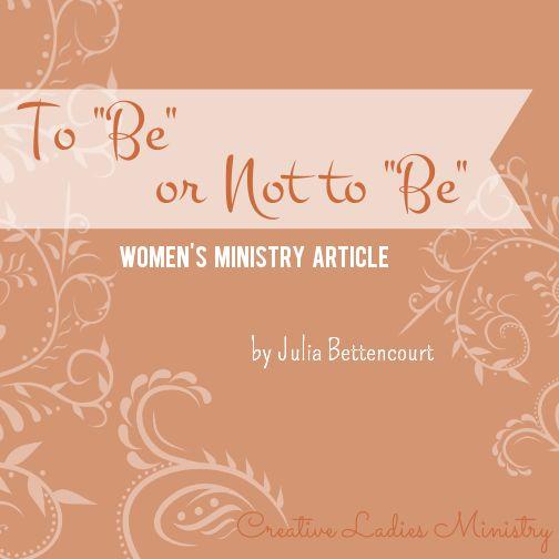 Julia Bettencourt Ladies Ministry Themes | just b.CAUSE - photo#43