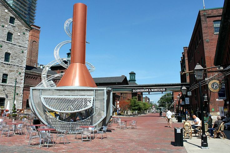 Distillery District, Toronto, Canada: http://www.ytravelblog.com/things-to-do-in-toronto/