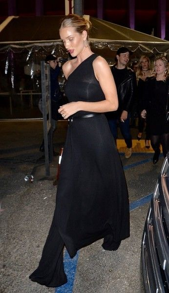 Rosie Huntington-Whiteley attends Rihanna's concert
