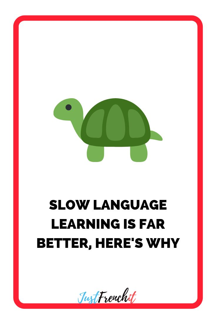In the defense of slow language learning | Learning ...