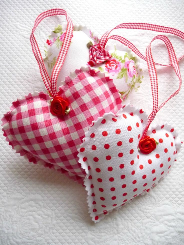 Shabby chic decorative red gingham polka dot floral for Peinture shabby chic