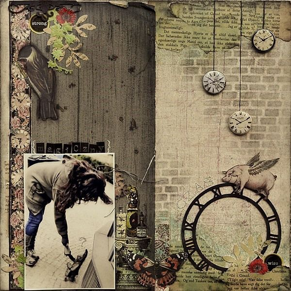 buttony zegary vintage