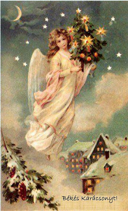 Viktoriánus karácsonyi képeslapok