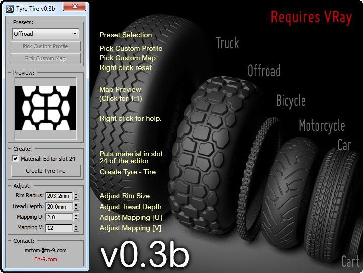 Tyre Tire | ScriptSpot