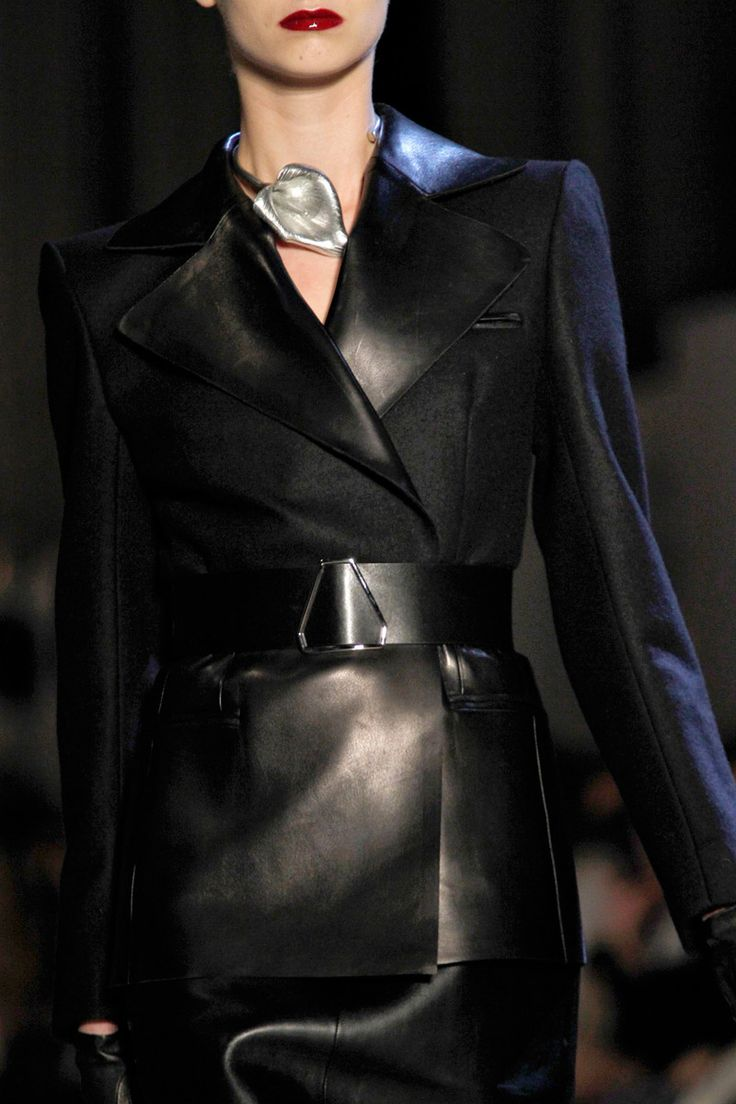 Elegant and fierce... Yves Saint Laurent