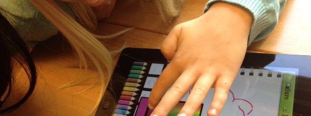 Vi har gjort ett eget bokstavspussel! | Lustfyllt lärande med iPads i förskola & skola
