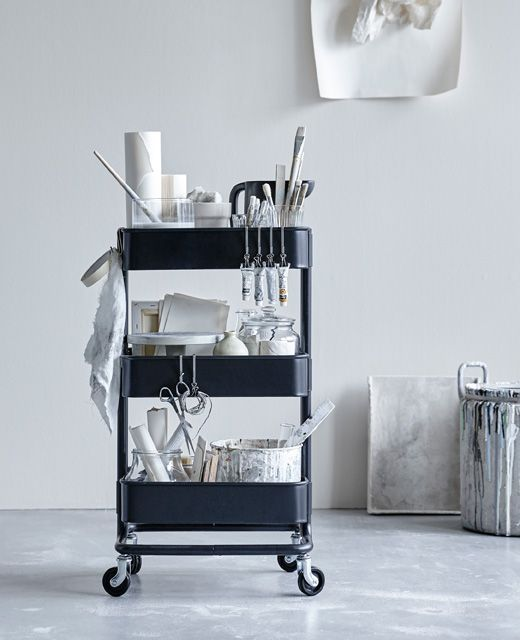 best 20 raskog utility cart ideas on pinterest art and utility cart and raskog cart. Black Bedroom Furniture Sets. Home Design Ideas