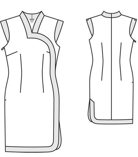 Cheongsam Dress 02/2012 #111 – Sewing Patterns | BurdaStyle.com