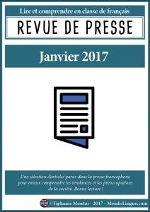 Revue de presse - Janvier 2017 | Mondolinguo - Français