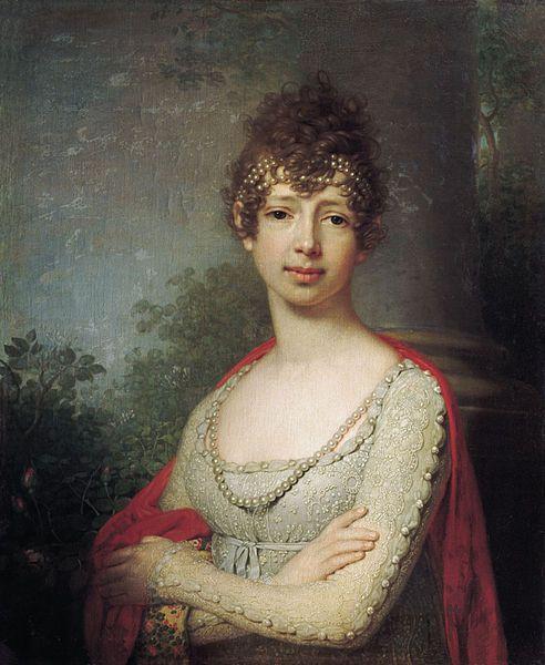"""Grand Duchess Maria Pavlovna"" by Vladimir Borovikovsky (1800)"