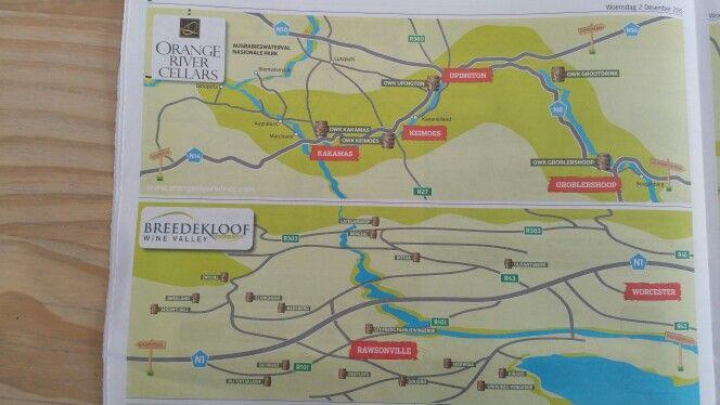 Breedekloof and Oranje River Wine Routes