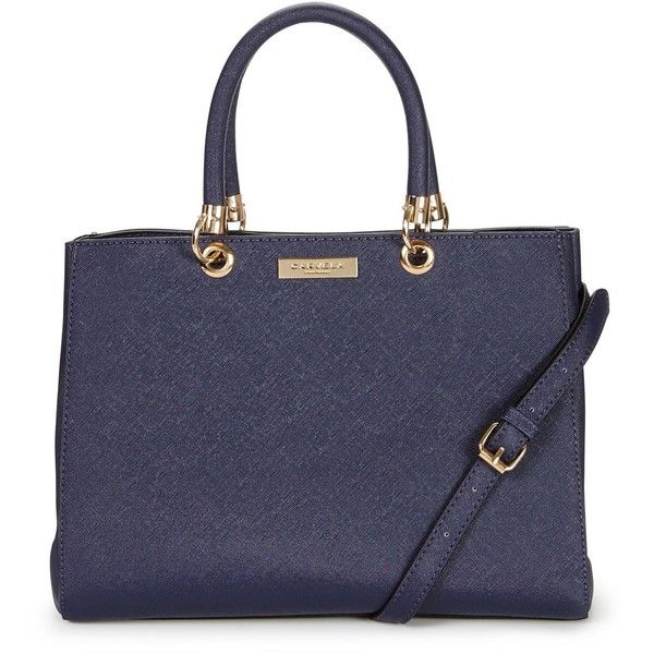 Carvela Tote Bag (€72) ❤ liked on Polyvore featuring bags, handbags, tote bags, purse tote, zip tote bag, navy blue tote bag, tote purses and zippered tote bag