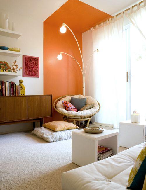46 Best Images About Orange Accent On Pinterest Orange Living Rooms Living Room Orange And