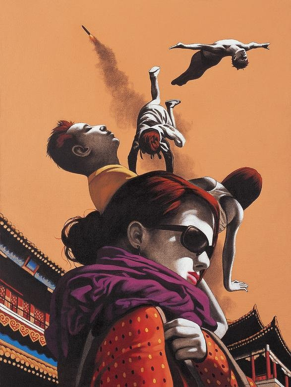 Chinese Art by Zhong Biao