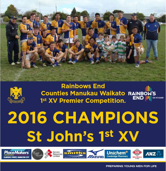 1st XV Rugby - St. John's College