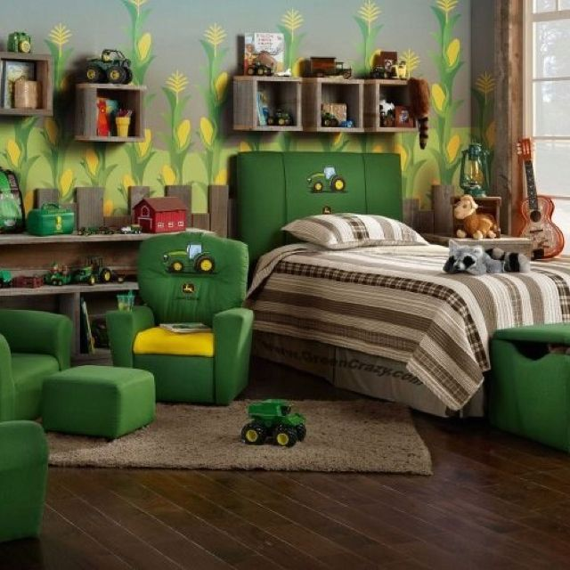 John Deere Boys Bedroom : Some more john deere for the home pinterest room