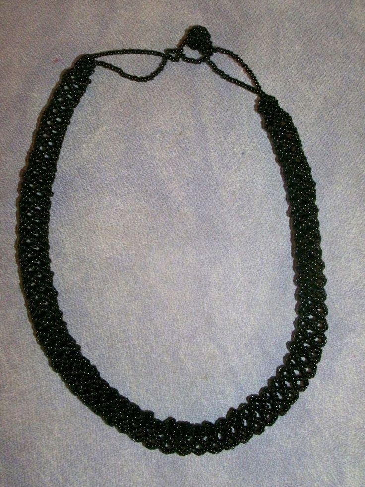 Huichol Hand-beaded Peyote Stitch Necklace