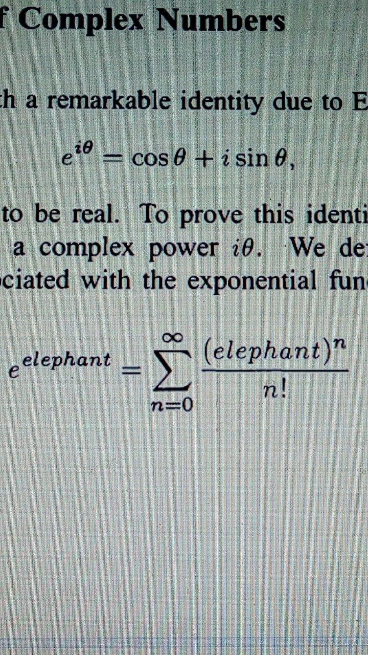 Mathematics Funny Book Page R Shankar Mathematics Funny Page Equation Exponential Hahaha Formula Math Humor Funny Funny Math Jokes Math Humor