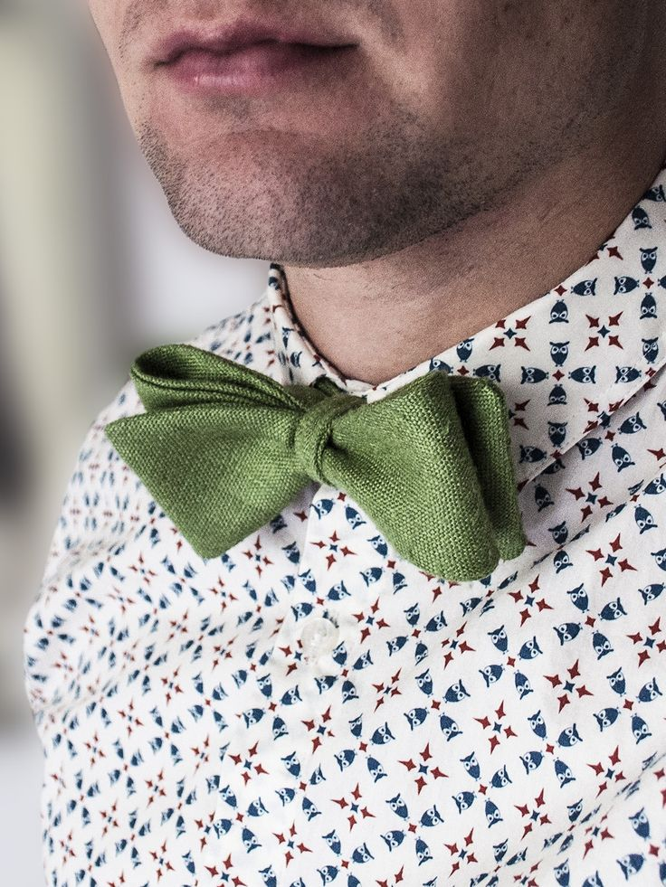 Österlen Bow Tie; made for a party in the sun!