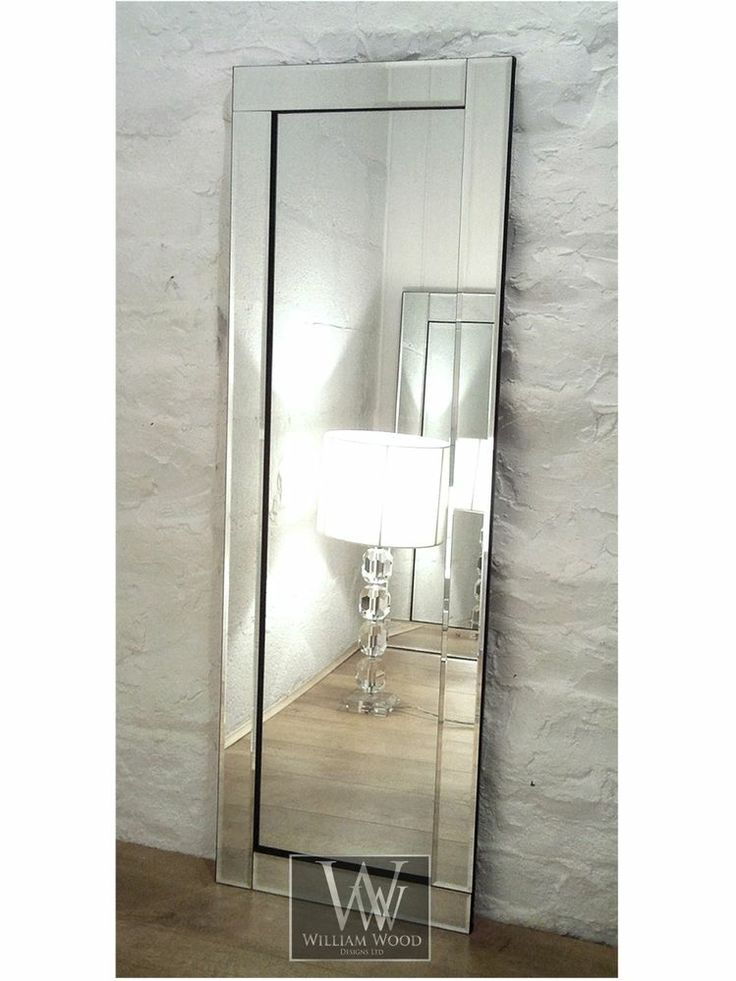 Blenheim Silver Glass Framed Full Length Bevelled Wall Mirror 16  x 48   Large. 17 Best images about HALL on Pinterest   Chrome finish  Runners