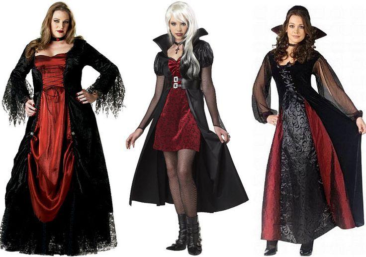 Vampire Halloween costumes for women