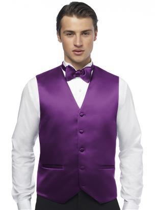 Tuxedo Vest (African Violet)