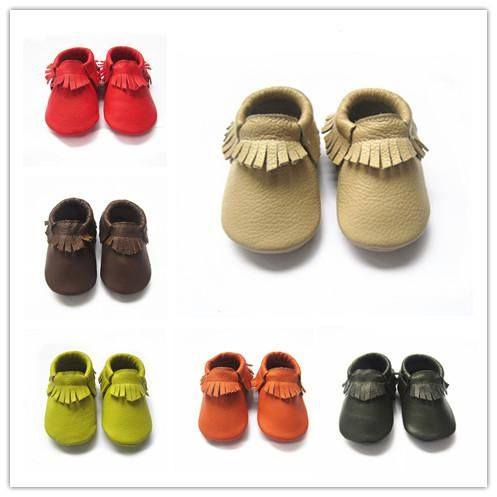 Baby Moccasins Soft Leather Moccs Baby Booties