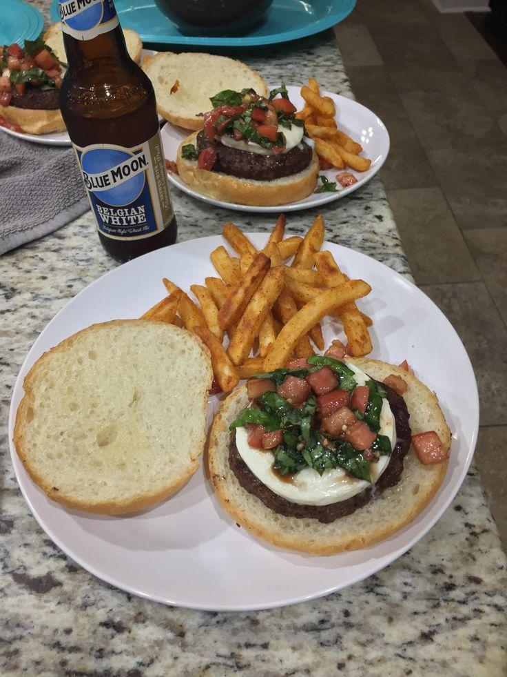 [Homemade] Bruschetta Bout It burger from Bob's Burgers