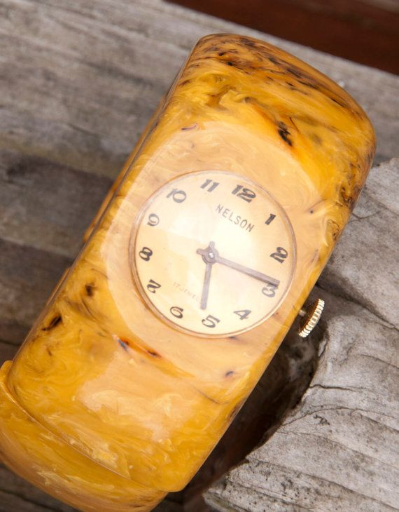 bakelite watch..this I would actually wear!