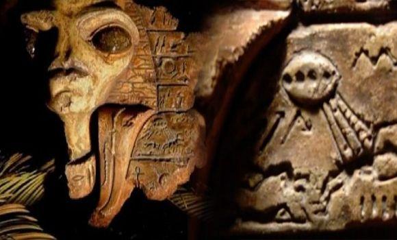 Top 10 Ancient Egyptian Alien Hieroglyphics Proof Of Aliens Life | Proof Of Aliens Life