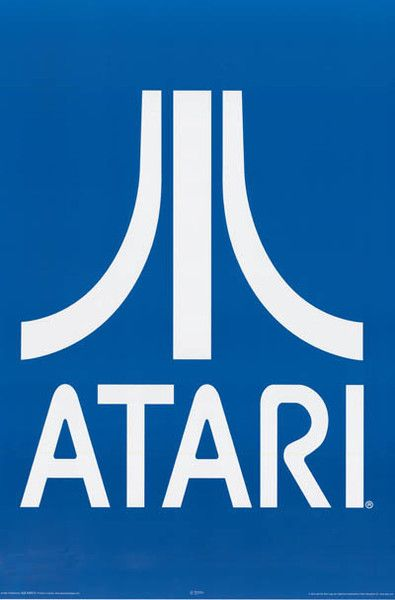 Atari Video Game System Logo Poster 24x36 – BananaRoad