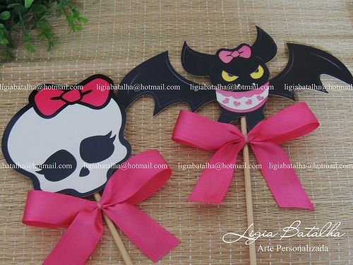 Toppers Centro de Mesa - Monster High