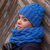 Магазин мастера Вязаные снуды, шапки, шарфы,свитера: комплекты аксессуаров, шапки, кофты и свитера, шали, палантины, шарфы и шарфики