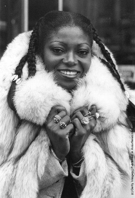 Nigerian singer Patti Boulaye