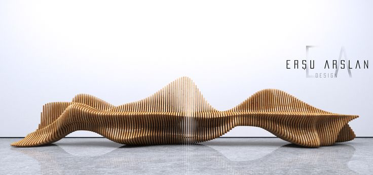 Parametric Bench Cnc Cut Bench Designed By Ersu Arslan
