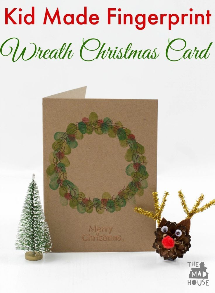 151 best Kid Made Christmas Cards images on Pinterest Christmas - blank xmas cards
