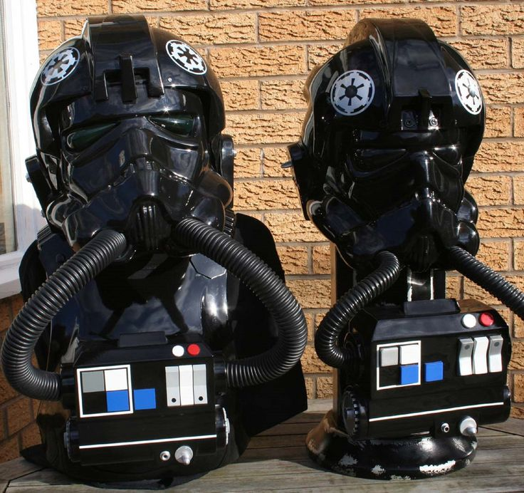 how to make a tie fighter pilot helmet