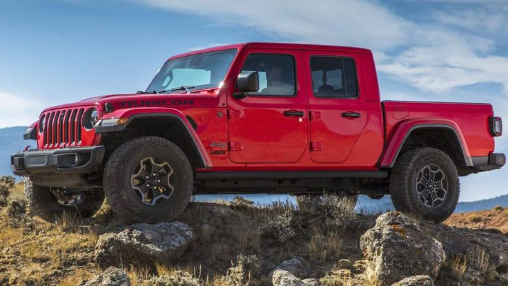 The allnew 2020 Jeep Gladiator the most capable midsize