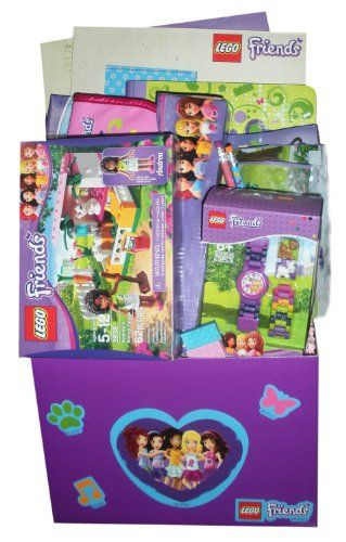 23 best lego gift basket school images on pinterest gift lego friends ultimate gift basket perfect for easter birthday christmas or other occasion negle Image collections