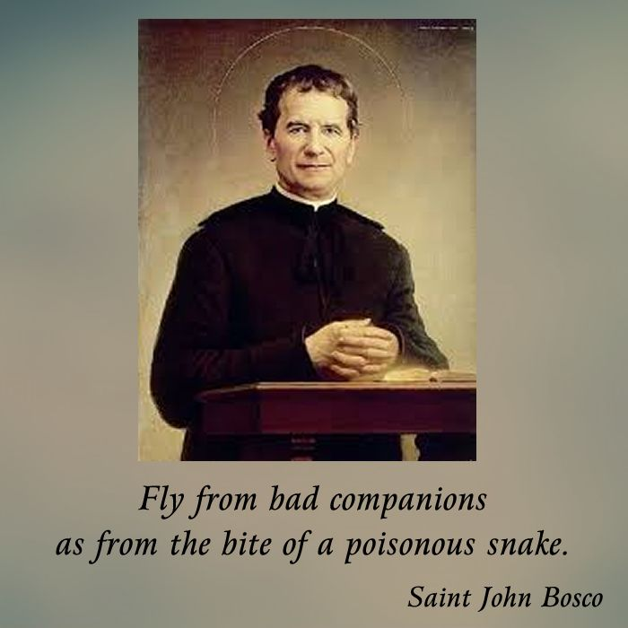 St John Bosco Quotes Education: 99 Best Images About St John Bosco On Pinterest