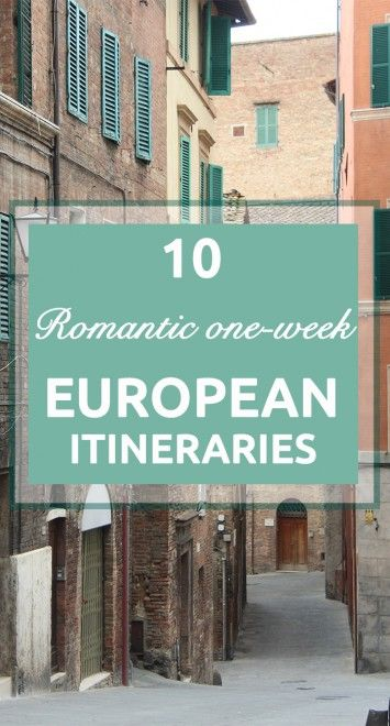 European Holidays that You Need to Have on Your Bucket List European Itineraries
