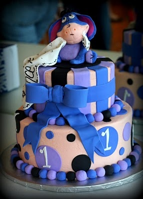 eeyore birthday cake for one year oldCutesy Cake, Cakes Cupcakes, Cake Ideas, Eeyore Cake, Eeyore'S 3, Awesome Cake, Eeyore Birthday, Old Eeyore, Birthday Cakes