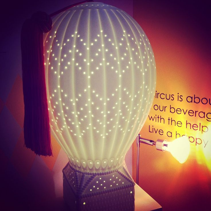 Air balloon Ceramic Table Lamp. Concept and designed - MC2 by topchoice