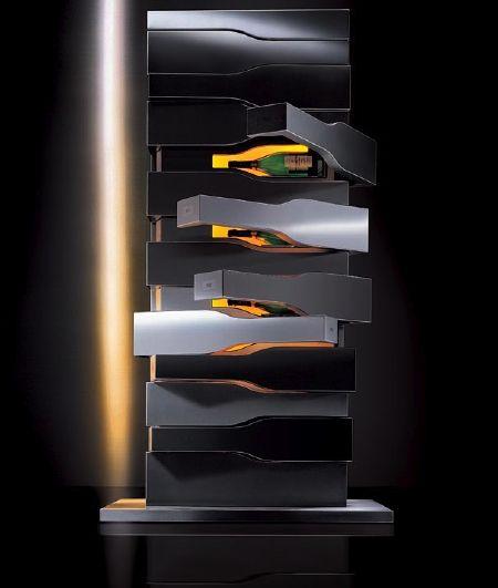 Veuve Clicquot Vertical Limit by Porsche Design Studio... This is pure luxury...