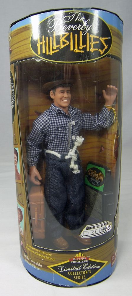 JETHRO BODINE DOLL Beverly Hillbillies  Exclusive Toy L/E 1997 NRFB CBS TV Show #ExclusiveToyProductsCBS #DollswithClothingAccessories
