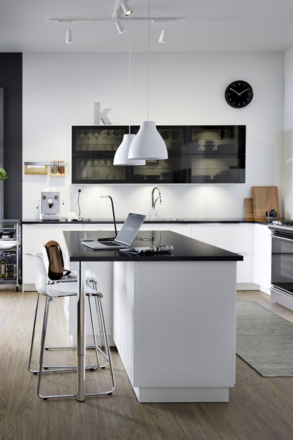 Sometimes The Best Workspace Is In The Kitchen A Big Kitchen Island Is Perfect For