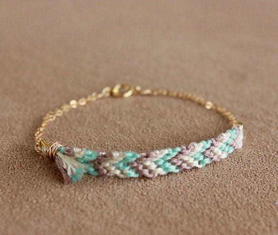 woven chevron gold bracelet by minco on etsy