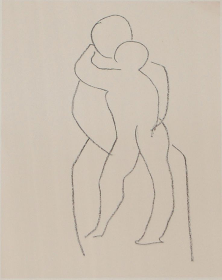 Vierge a l'enfant deboutc. 1950-1951Lithograph on chine appliqué12.75 x 9.5 inches (32.38 x 24.13 cm)Edition of 200Signed and numbered in pencilDuthuit