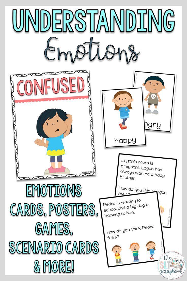 Understanding Emotions Worksheets and Activities Pack